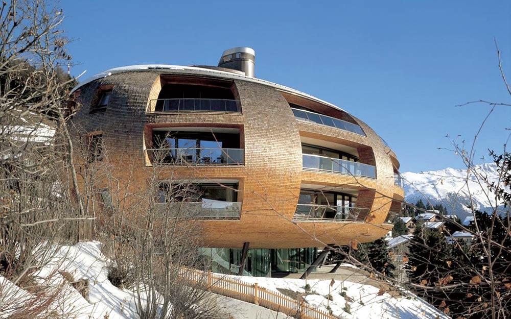 Chesa Futura08 - NORMAN FOSTER Un gran ícono de la arquitectura
