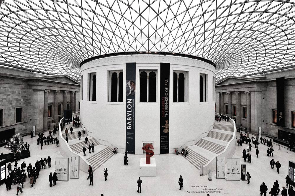 Great Court at the British Museum London UK 1994 2000 copia - NORMAN FOSTER Un gran ícono de la arquitectura