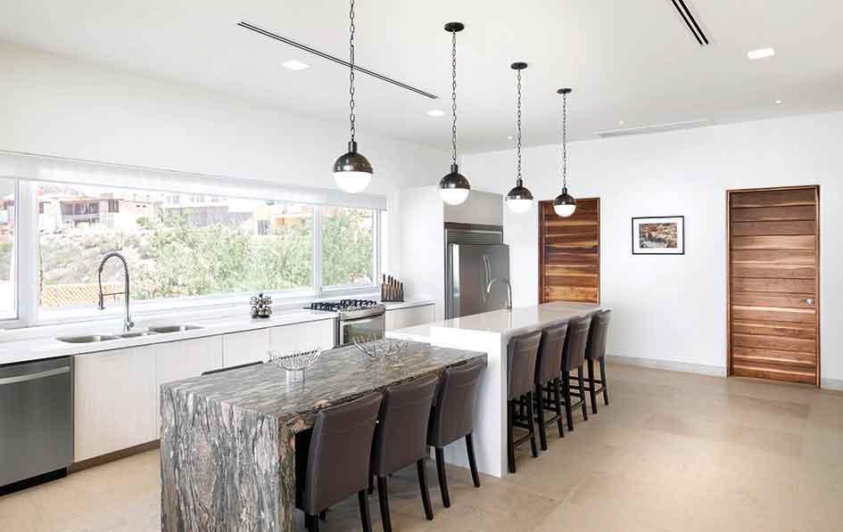 cocina - Casa Sal: Montaña, mar y desierto