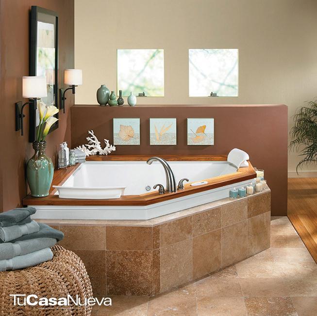 fuzion corner ambiente - Un baño que despierte tus sentidos