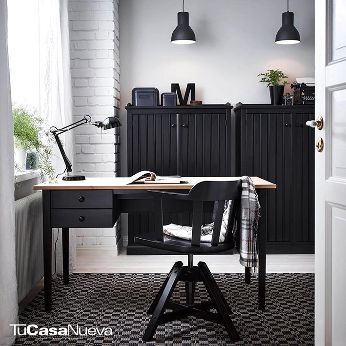 ikea daydream in classic black  1364299636756 s5 - Oficina en casa