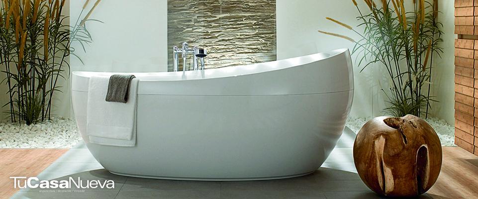 tina nueva 1 - Un baño que despierte tus sentidos