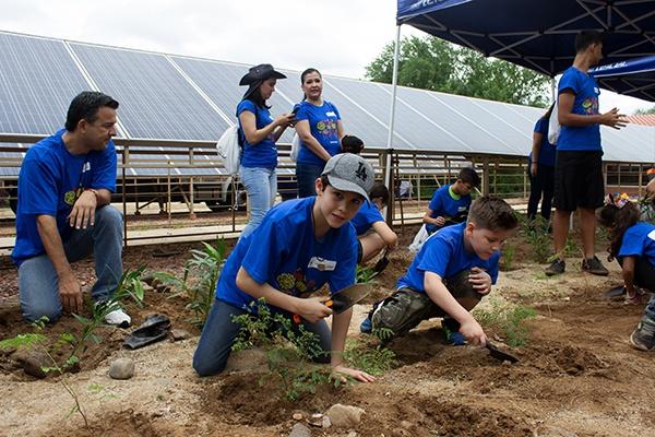 11 - Instalan jardín para polinizadores en el Centro Ecológico de Sonora