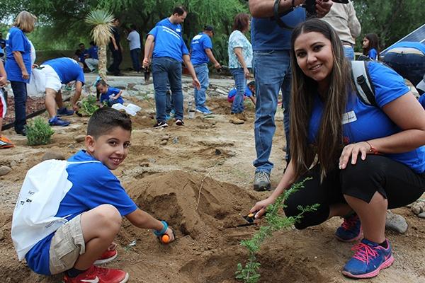 13 - Instalan jardín para polinizadores en el Centro Ecológico de Sonora